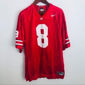 Nike OSU Jersey 8 Ohio State Football Print xl